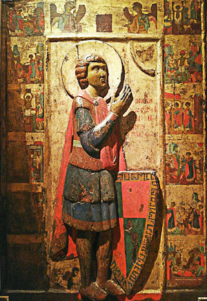 Icône de Saint Georges, 13e siècle