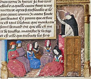 Jacques de Voragine racontera l'histoire de Saint Georges dans la Légende dorée, vers 1480.