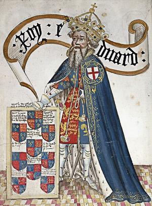 le roi Édouard III (1312-1377) développe le culte de Saint Georges