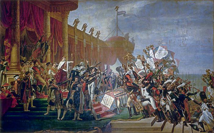 Serment de l'armée fait à l'Empereur après la distribution des aigles, 5 décembre 1804