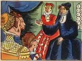 Jeanne refuse d'abandonner le calvinisme