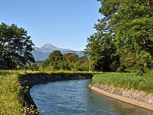 Le canal de la Neste