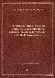 Livre du docteur de Larroque sur les qualités médicinales des eaux salisiennes