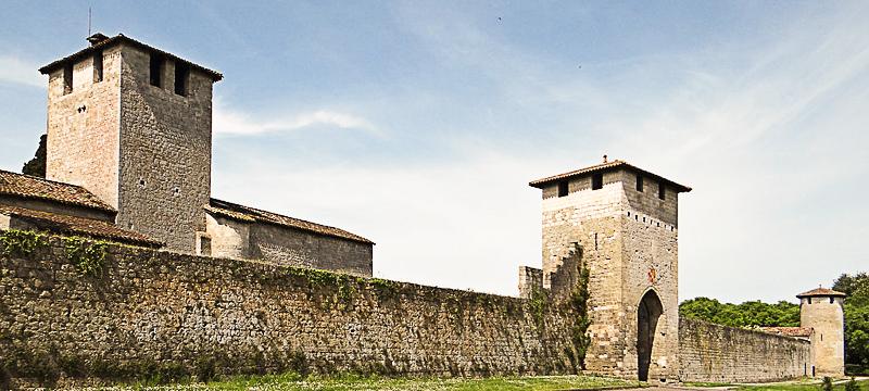 Bastide de Vianne - remparts