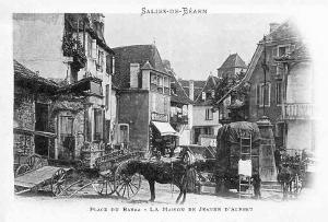 Vue de Salies début XXe siècle