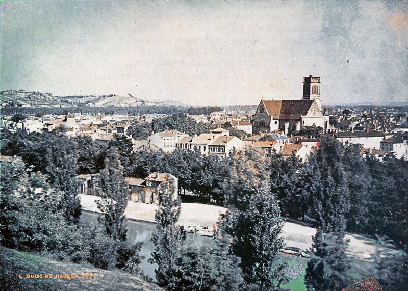 Ducos du Hauron - Agen (1877)- la première photo en couleurs de paysage