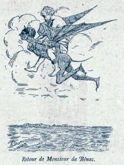 Le retour de M. de Bénac à la tor de Poyalèr