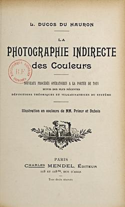 La photographier indirecte