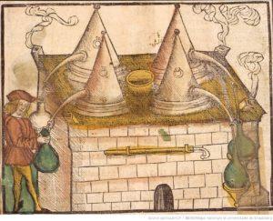 Les alambics de la distillerie – 1509