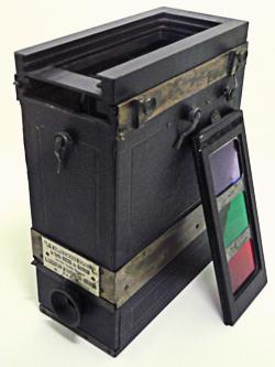 Une des multiples inventions de Ducos du Hauron : le melanochromoscope