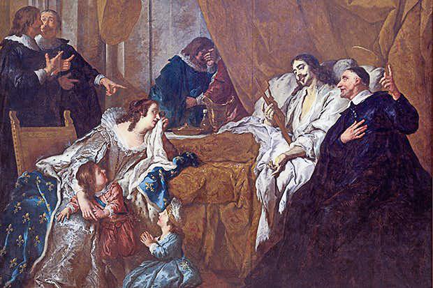 Vincent de Paul accompagne Louis XIII dans la mort