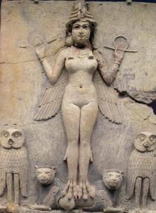 Déesse de la fertilité Ishtar, Babylone
