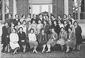 Ecole Normale d'Institutrices (1927-1930) - le métier d'institutrice pour ls cadettes