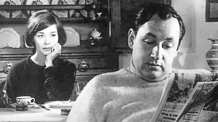 Emmanuelle Riva et Philippe Noiret, dans l'adaptation de Thérèse Desqueyroux de Franju d'après François Mauriac