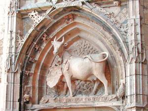 La vache du Palais des Evêques de Comminges