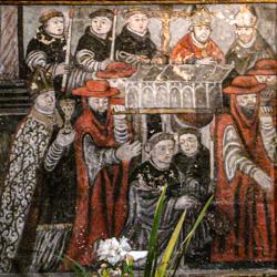 Saint-Bertrand - Translation des reliques, peinture du mausolée)