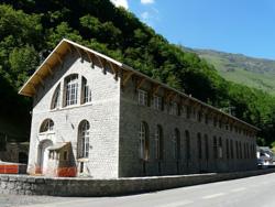 La centrale hydroélectrique d'Éget, Aragnouet, Hautes-Pyrénées
