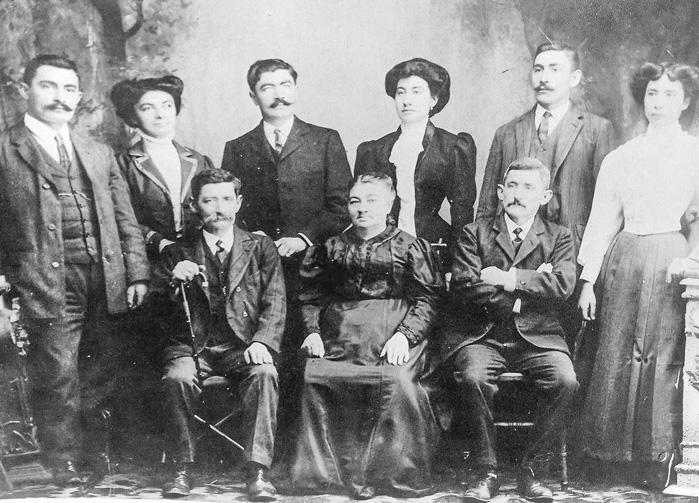 Les Béarnais en Argentine - La famille Abadie