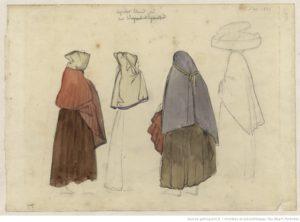 Capulets pyrénéens, costume traditionnel