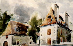 La maison Chrestia à Orthez
